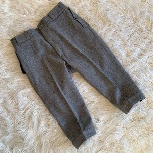 Vintage Woolrich Wool Cropped Riding Pants Size L